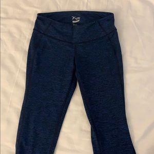 NWOT Old Navy blue capris work out pants